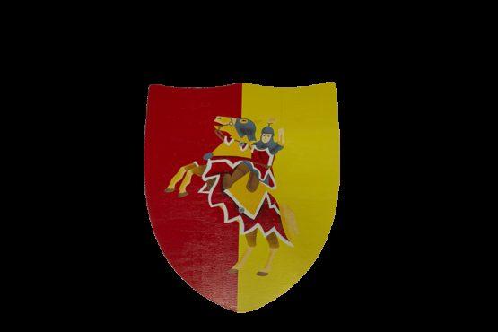 Escudo Caballero Rojo