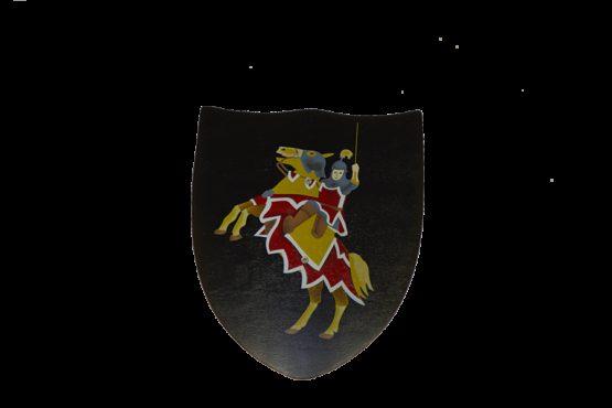 Escudo Caballero Negro