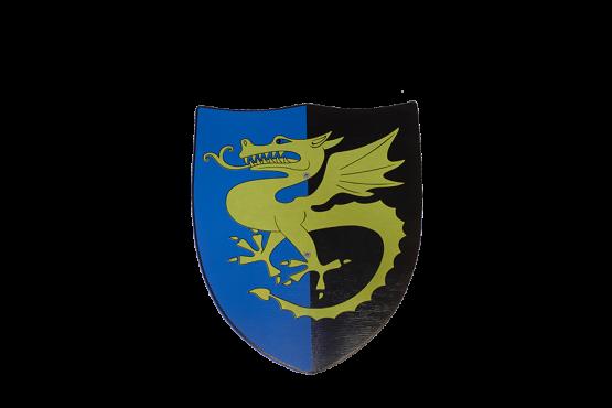 Escudo Dragón Dorado