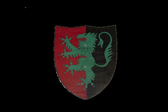 Escudo León Verde