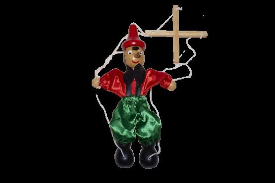Marioneta de madera para niños de Pinocho