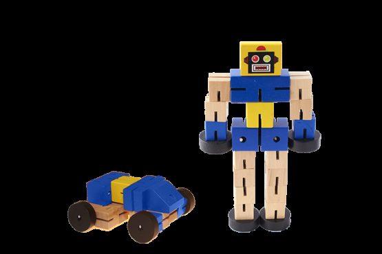 Robot Transformer Azul