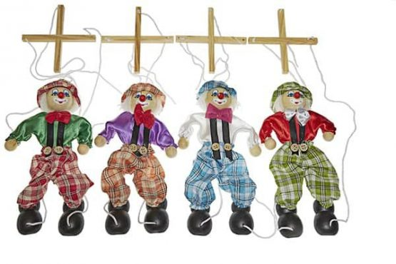 Marioneta de madera