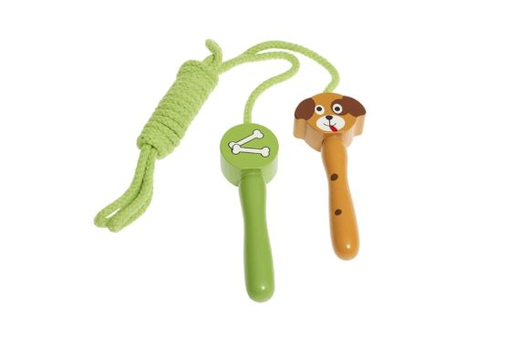 Saltador de juguete estampado con perros