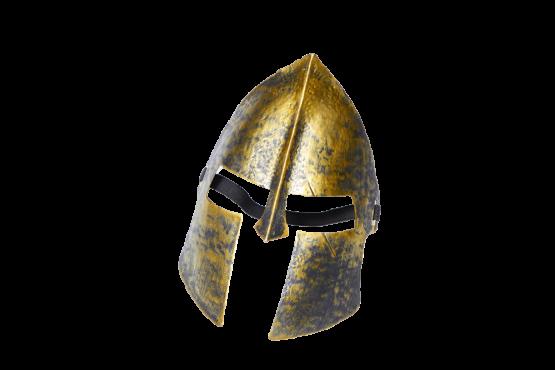 Máscara gladiador dorada