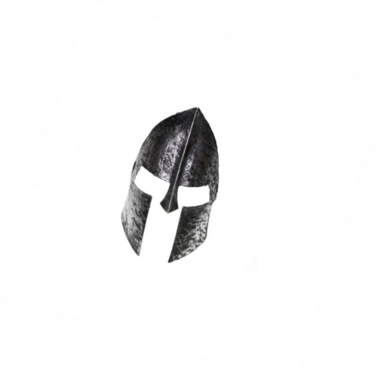 Máscara gladiador plateada