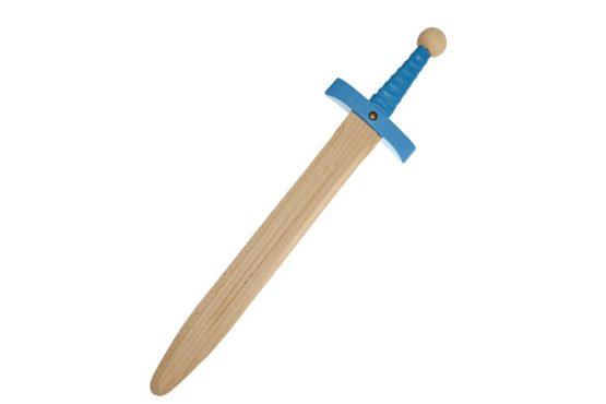 Espada hoja ancha azul