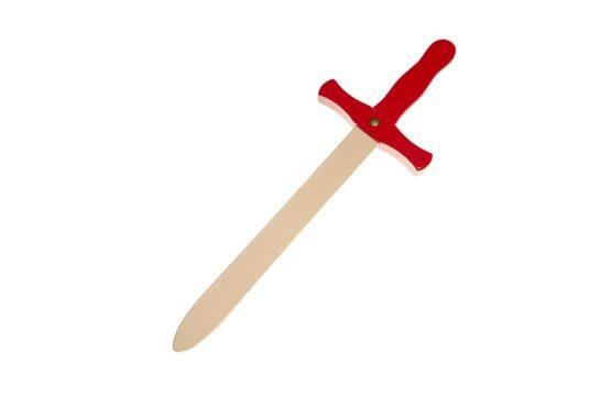 Espada de madera Roja