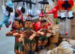 juguetes de madera para estimular el lenguaje