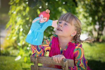 Aprender jugando con marionetas