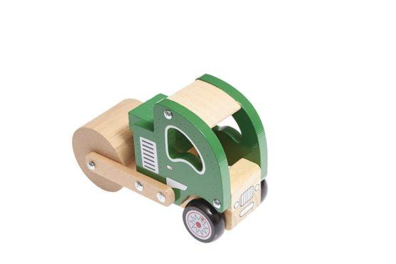 Camión de madera apisonadora