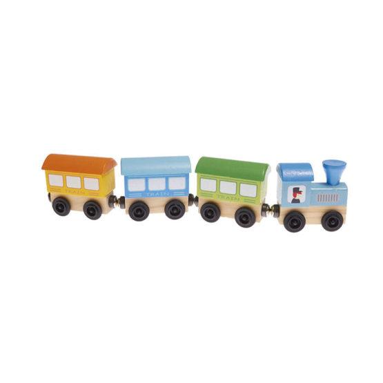 Tren de juguete de pasajeros con imán
