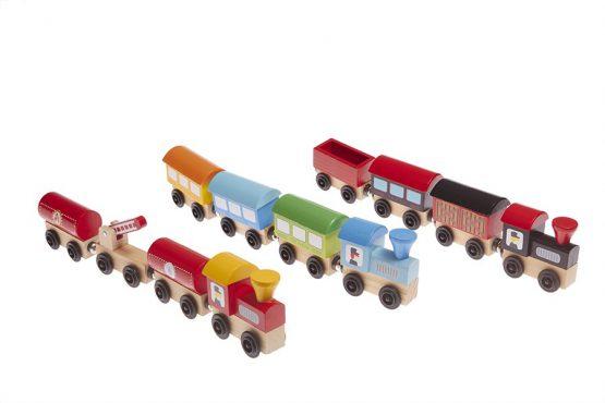 Tren iman madera