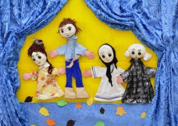 Marioneta de madera juguetes para niños