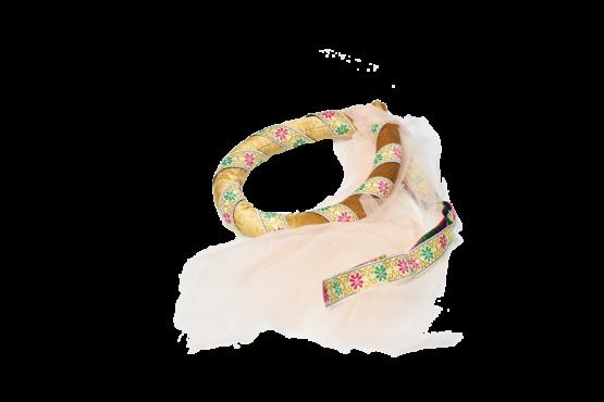 Corona o tiara medieval para niña