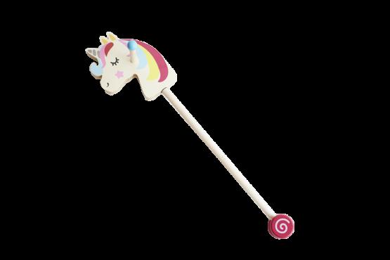 Unicornio de palo colores para niños