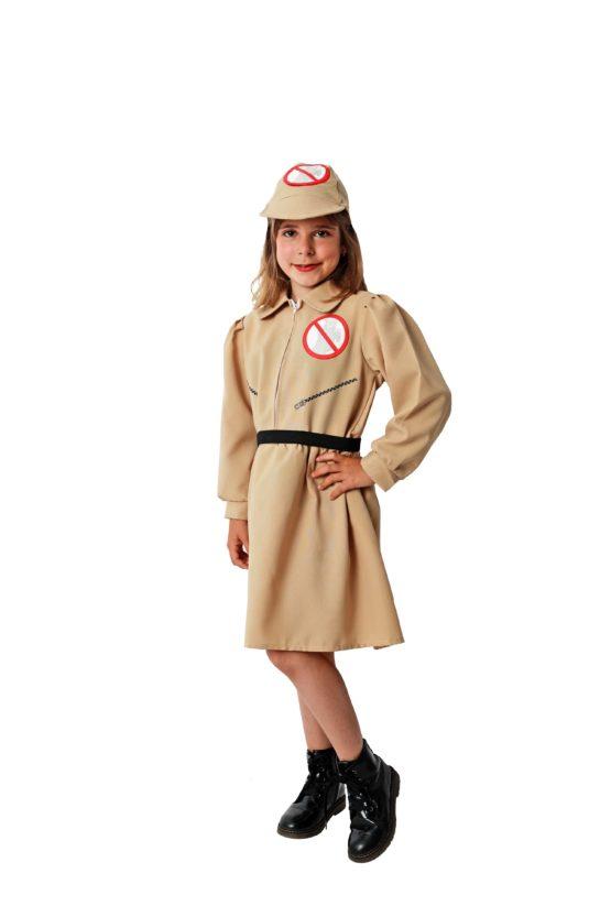 Disfraz Cazafantasmas niña